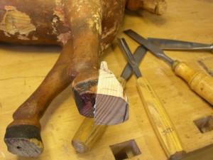 Reparera en leksakshäst