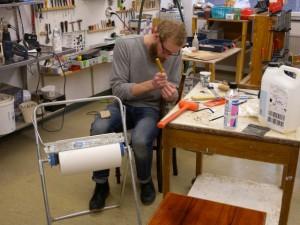 Mikael Andersson från Makers i Trollhättan