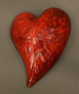 Alla hjärtans dag, trähjärta