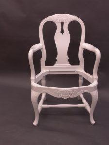 Sprutlackering av stolar