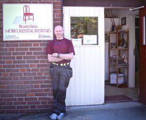 Dan Broström, möbelsnickare och möbelrenoverare