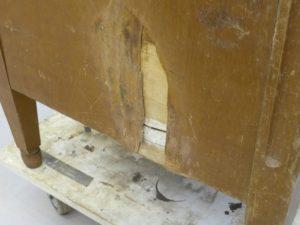 Möbelrenovering av skåp
