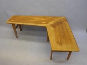 Slipa och lacka teakbord