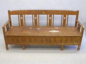 Ådringsmålade möbler